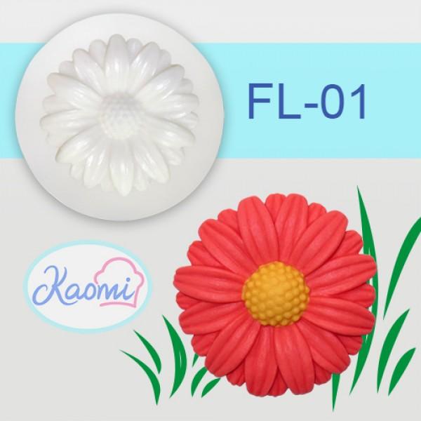 Gerbera Flower Mold – Code: FL-01