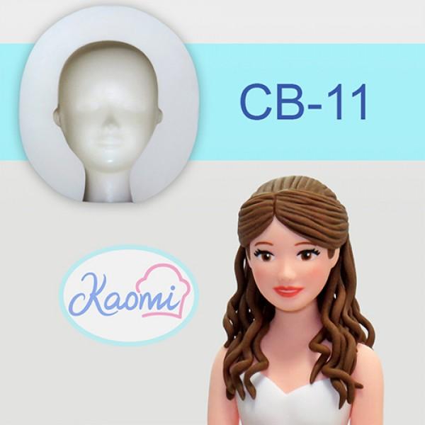 Woman Face Mold – MEDIUM – Code: CB-11